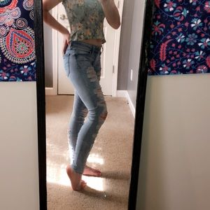 Pair 2 American eagle jeans